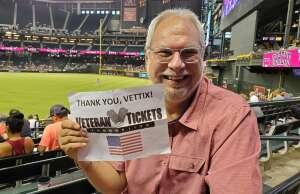 Phil attended Arizona Diamondbacks vs. Milwaukee Brewers - MLB on Jun 21st 2021 via VetTix