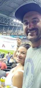 Jeff attended Arizona Diamondbacks vs. Milwaukee Brewers - MLB on Jun 21st 2021 via VetTix