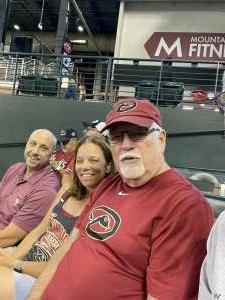 Thanks! attended Arizona Diamondbacks vs. Milwaukee Brewers - MLB on Jun 21st 2021 via VetTix