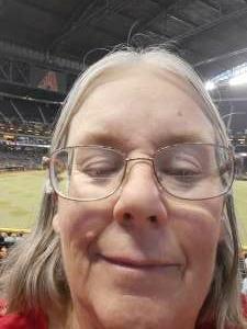 Susan  attended Arizona Diamondbacks vs. San Francisco Giants - MLB on Jul 3rd 2021 via VetTix