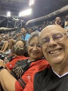 Steve attended Arizona Diamondbacks vs. San Francisco Giants - MLB on Jul 3rd 2021 via VetTix