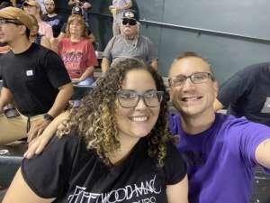 Brett Mahoney attended Arizona Diamondbacks vs. San Francisco Giants - MLB on Jul 3rd 2021 via VetTix