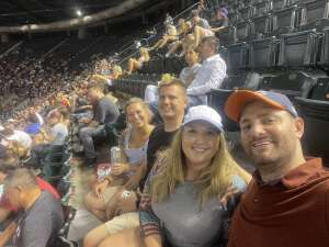 Jessica Roza attended Arizona Diamondbacks vs. San Francisco Giants - MLB on Jul 3rd 2021 via VetTix