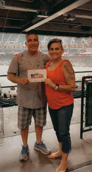 Denise attended Arizona Diamondbacks vs. San Francisco Giants - MLB on Jul 3rd 2021 via VetTix