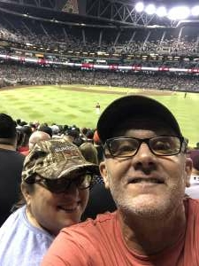 John McCown attended Arizona Diamondbacks vs. San Francisco Giants - MLB on Jul 3rd 2021 via VetTix