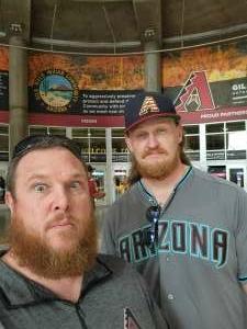 Ben D. attended Arizona Diamondbacks vs. San Francisco Giants - MLB on Jul 3rd 2021 via VetTix