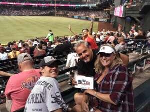 Marvin attended Arizona Diamondbacks vs. San Francisco Giants - MLB on Jul 3rd 2021 via VetTix