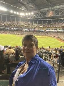 Kathyb attended Arizona Diamondbacks vs. San Francisco Giants - MLB on Jul 3rd 2021 via VetTix