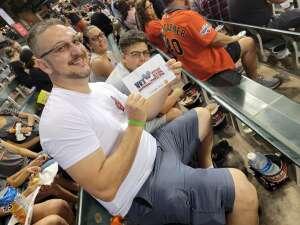 Brandon attended Arizona Diamondbacks vs. San Francisco Giants - MLB on Jul 3rd 2021 via VetTix