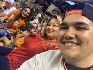 Jonathan Juarez-Chavez attended Arizona Diamondbacks vs. San Francisco Giants - MLB on Jul 3rd 2021 via VetTix