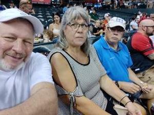 Mike King attended Arizona Diamondbacks vs. San Francisco Giants - MLB on Jul 3rd 2021 via VetTix