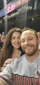 Mike  attended Arizona Diamondbacks vs. San Francisco Giants - MLB on Jul 3rd 2021 via VetTix