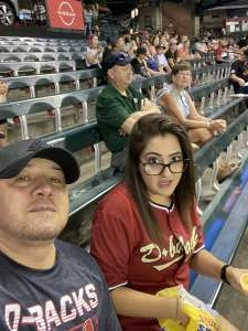 K attended Arizona Diamondbacks vs. San Francisco Giants - MLB on Jul 3rd 2021 via VetTix