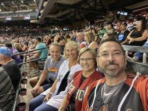 Steven Bartolomei attended Arizona Diamondbacks vs. San Francisco Giants - MLB on Jul 3rd 2021 via VetTix
