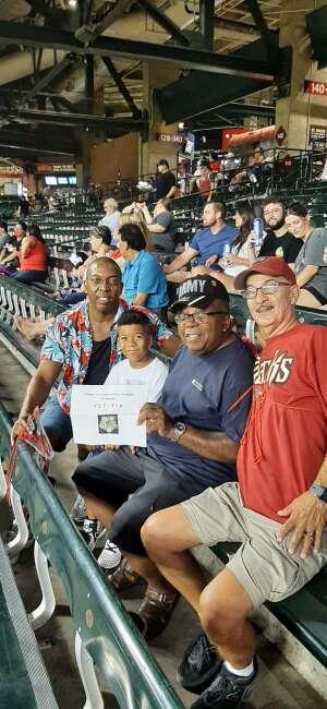 Jim D attended Arizona Diamondbacks vs. San Francisco Giants - MLB on Jul 3rd 2021 via VetTix