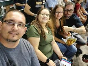 Chris Martinez attended Arizona Diamondbacks vs. San Francisco Giants - MLB on Jul 3rd 2021 via VetTix