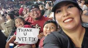 JMo attended Arizona Diamondbacks vs. San Francisco Giants - MLB on Jul 3rd 2021 via VetTix