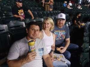 David  attended Arizona Diamondbacks vs. San Francisco Giants - MLB on Jul 3rd 2021 via VetTix