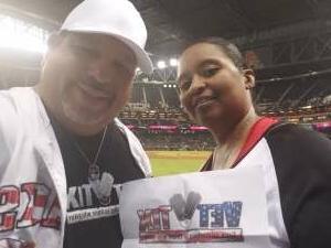 Carlos J attended Arizona Diamondbacks vs. San Francisco Giants - MLB on Jul 3rd 2021 via VetTix