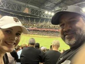 Raul attended Arizona Diamondbacks vs. San Francisco Giants - MLB on Jul 3rd 2021 via VetTix
