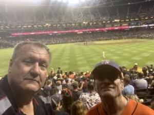 Max attended Arizona Diamondbacks vs. San Francisco Giants - MLB on Jul 3rd 2021 via VetTix
