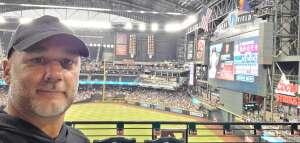 Jim attended Arizona Diamondbacks vs. San Francisco Giants - MLB on Jul 3rd 2021 via VetTix