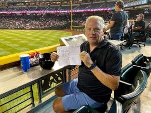 Jason attended Arizona Diamondbacks vs. San Francisco Giants - MLB on Jul 4th 2021 via VetTix