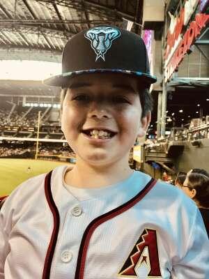 Chad attended Arizona Diamondbacks vs. San Francisco Giants - MLB on Jul 4th 2021 via VetTix