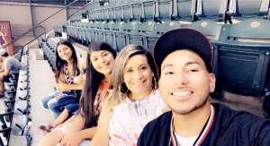 Charlie  attended Arizona Diamondbacks vs. San Francisco Giants - MLB on Jul 4th 2021 via VetTix