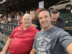 Fred Barga attended Arizona Diamondbacks vs. San Francisco Giants - MLB on Jul 4th 2021 via VetTix