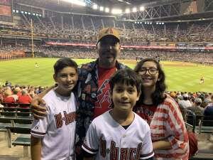 Joe attended Arizona Diamondbacks vs. San Francisco Giants - MLB on Jul 4th 2021 via VetTix