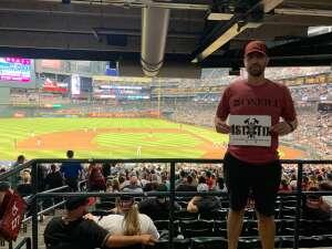 Brad attended Arizona Diamondbacks vs. San Francisco Giants - MLB on Jul 4th 2021 via VetTix