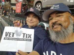 Bennie attended Arizona Diamondbacks vs. San Francisco Giants - MLB on Jul 4th 2021 via VetTix