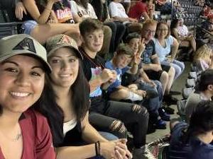 Jess attended Arizona Diamondbacks vs. San Francisco Giants - MLB on Jul 4th 2021 via VetTix