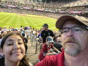 Chief Norgren  attended Arizona Diamondbacks vs. San Francisco Giants - MLB on Jul 4th 2021 via VetTix