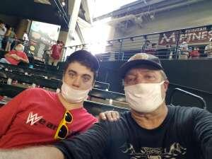 Doug  attended Arizona Diamondbacks vs. San Francisco Giants - MLB on Jul 4th 2021 via VetTix