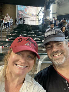 Gary attended Arizona Diamondbacks vs. San Francisco Giants - MLB on Jul 4th 2021 via VetTix