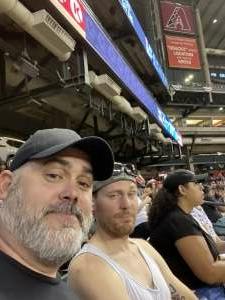 Brian attended Arizona Diamondbacks vs. San Francisco Giants - MLB on Jul 4th 2021 via VetTix