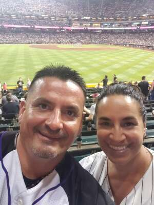 Dave H attended Arizona Diamondbacks vs. San Francisco Giants - MLB on Jul 4th 2021 via VetTix