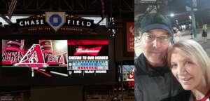 Mark Killinger attended Arizona Diamondbacks vs. Chicago Cubs - MLB on Jul 16th 2021 via VetTix