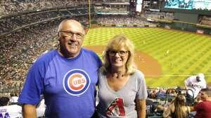 Mike attended Arizona Diamondbacks vs. Chicago Cubs - MLB on Jul 16th 2021 via VetTix