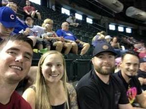 MSG Villegas attended Arizona Diamondbacks vs. Chicago Cubs - MLB on Jul 16th 2021 via VetTix