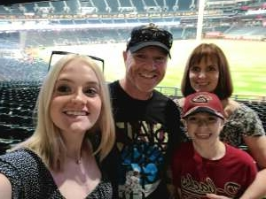Todd attended Arizona Diamondbacks vs. Chicago Cubs - MLB on Jul 16th 2021 via VetTix