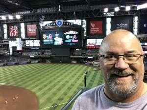 Don attended Arizona Diamondbacks vs. Chicago Cubs - MLB on Jul 16th 2021 via VetTix