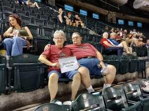 Wilma Hale attended Arizona Diamondbacks vs. Chicago Cubs - MLB on Jul 16th 2021 via VetTix