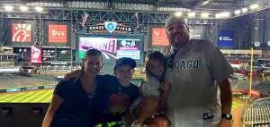 TJ attended Arizona Diamondbacks vs. Chicago Cubs - MLB on Jul 16th 2021 via VetTix