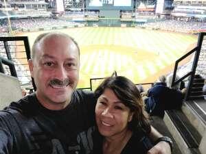 Armando attended Arizona Diamondbacks vs. Chicago Cubs - MLB on Jul 16th 2021 via VetTix
