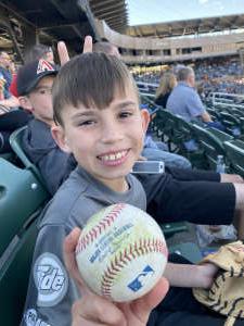 Alexskoz attended Arizona Diamondbacks vs. Chicago Cubs - MLB on Jul 16th 2021 via VetTix