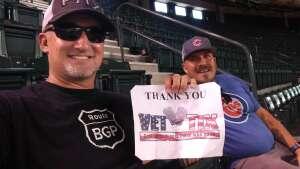 David attended Arizona Diamondbacks vs. Chicago Cubs - MLB on Jul 16th 2021 via VetTix