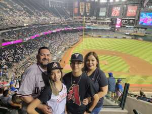 Juanito attended Arizona Diamondbacks vs. Chicago Cubs - MLB on Jul 16th 2021 via VetTix